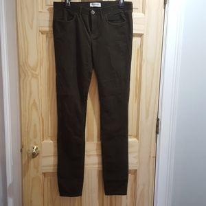 Madewell green corduroy size 29x34